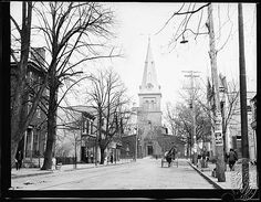 St. Anne's Church (Annapolis, Maryland) – St. Anne's Church viewed from West Street, 1910. St. Anne's Church (Annapolis, Maryland) – Elizabeth Calvert, ...