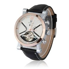 Aliexpress.com : Buy Luxury Brand FORSINING New Mechanical Watch Auto Flywheel Men's Watches Wristwatch Brown Leather relojs Free Shipping from Reliable watch suppliers on Kiss Sunshine | Alibaba Group