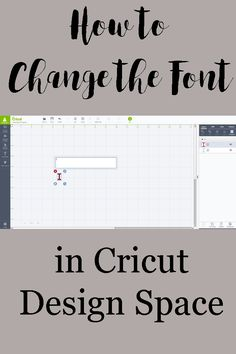 How to Change the Font in Cricut Design Space
