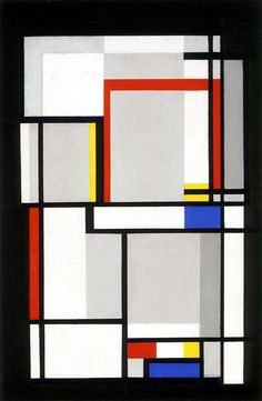 Ilya Bolotowsky / Untitled (Relational Painting) / 1950 / Oil on canvas