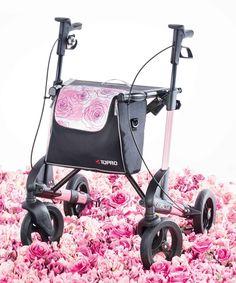 TOPRO Rollator Troja 2G Premium, Rose Sublime