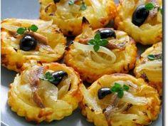 Mini-tartelettes fines aux oignons et anchois façon pissaladière • Hellocoton.fr