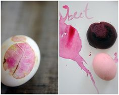 natural dyed easter eggs// Progressive Pioneer