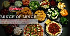 Nothing beats all-you-can-eat pizza, chicken, mojos, and salad at Shakeys!!!