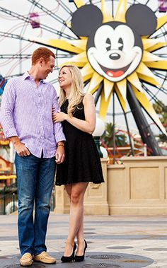 Disneyland Engagement Spotlight: Michelle and Kevin
