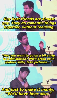 On friendship. | 15 Jokes By Kenny Sebastian That Will Make You Laugh Your Ass Off