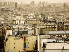 View of Paris from Montmartre by just_jeanette, via Flickr