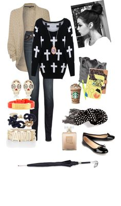 """""""ootd school 11413"""" by shaunna-myers on Polyvore"""