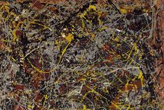 10 Abstract Facts About Jackson Pollock's 'No. 5, 1948' | Mental Floss
