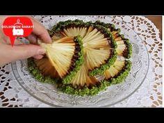 En kolay Muhtesem Yelpaze Kurabiye Tarifi / Gülsümün Sarayi - YouTube