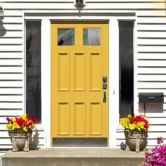 Made to size exterior timber door, Victorian style door, made to measure, top quality manufacture, beautiful large mouldings to the panels. Victorian Door, Timber Door, Yellow Doors, External Doors, Traditional Doors, Victorian Fashion, Tall Cabinet Storage, Garage Doors, Exterior