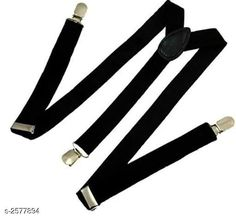 Checkout this latest Gift combos Product Name: *Attractive Men's Polyester Suspender* Material: Polyester  Size: Free Size Description: It Has 1 Piece of Suspender Colour: Black Pattern: Solid Country of Origin: India Easy Returns Available In Case Of Any Issue   Catalog Rating: ★4.2 (269)  Catalog Name: Fashion Trend Elegant Polyester Suspenders Vol 8 CatalogID_347825 C72-SC1081 Code: 161-2577894-852