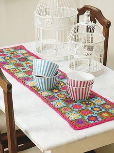 Camino de mesa - Deco Crochet