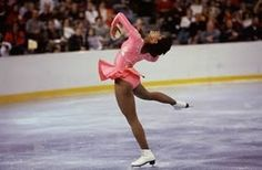 On February 8, 1986 Stanford University pre-med student Debi Thomas became the first African American to win the Women's Singles at the U.S. National Figure Skating Championship competition.  In that same year she  was named Wide World of Sports' Athlete of the Year. Two years later she added a second national title and won a bronze medal in the 1988 Olympics. She was inducted into the U.S. Figure Skating Hall of Fame in 2000.