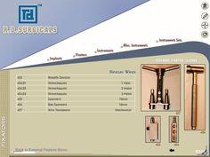 CD catalog design for surgical instruments 2