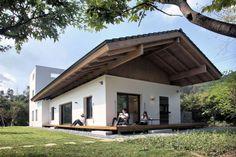 Дом цветущей вишни от архитектурной студии TRU Architects, Чхунчхон-Пукто, Южная Корея