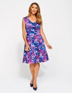 Jacqui e blue dress goes
