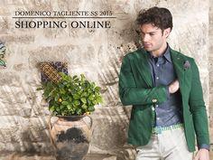 """La nuova collezione P/E 2015 """"Domenico Tagliente"""" è pronta per raggiungerti ovunque tu sia! Scegli i tuoi capi direttamente dal nostro e-commerce e completa il tuo #look con abiti e accessori di qualità e tendenza! E-shop: http://www.domenicotagliente.com/e-shop/it/ """