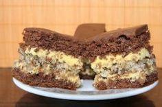 "Desert prajitura ""Furtuna in desert"" - Galerie foto Romanian Desserts, Romanian Food, Food Cakes, Cupcake Cakes, Sweets Recipes, Cookie Recipes, Hungarian Cake, Torte Cake, French Desserts"