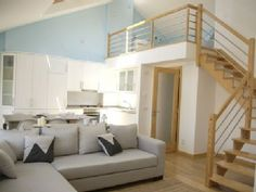 Exceptional loft-style apartment in central Nazaré, 2 min. from beach *free wifiVacation Rental in Nazare from Loft Style Apartments, Places To Rent, Ideal Home, Condo, Vacation, Bed, House, Furniture, Home Decor