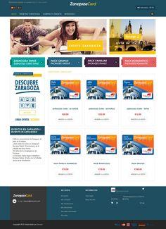 Zaragoza cards | Grupo Zeumat  #zeumat #zesis #grupozeumat #zaragozacard #marketing