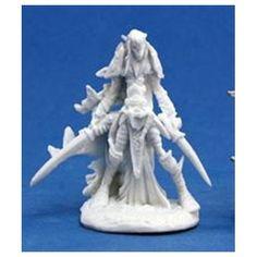 Reaper Dark Elf Warrior 1 Miniature by