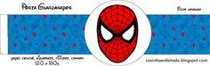 Casinha de Criança: Kit Festa Homem Aranha Para Imprimir Grátis
