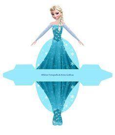Caja vestido Elsa