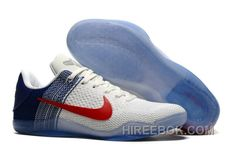 69dd241a9558 Buy Nike Kobe 11 Elite PE White University Red-Navy Mens Basketball Shoes Top  Deals from Reliable Nike Kobe 11 Elite PE White University Red-Navy Mens ...