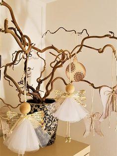 Engel romantische Weihnachtsdekoration Holz handgefertigte Ornament – Keep up with the times. Diy Arts And Crafts, Christmas Crafts, Christmas Decorations, Diy Crafts, Christmas Ornaments, Christmas Angels, Christmas Diy, Diy Jewelry To Sell, Diy Jewelry Inspiration