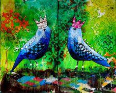 couleurs et mixed media: Art-Journal 2015 - J'ouvre les yeux - semaine 5