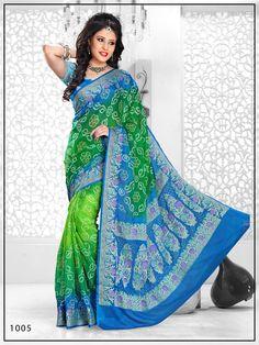 Pure crepe Bandhani saree  for more details call/whatsapp- 91-9377399299  #sankalp #bandhej #bandhani #dressmaterial #designersaree #saree #bandhanisaree #dupatta #designerdupatta #bandhanidupatta