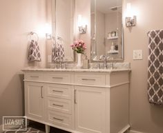 Bathroom Makeovers On A Dime $2,900 luxury-looking bathroom remodel | grey, diy and crafts and