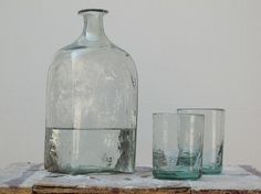 WHITE COLLECTION - Glass blowing craft - La Soufflerie