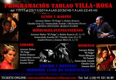 TABLAO VILLA ROSA: FLAMENCO MADRID: FLAMENCO MADRID: ARTISTAS EN VILLA-ROSA DEL 17 AL ...