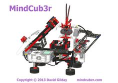 MindCub3r - Another Rubik's Cube solver, but this one is built from a single Mindstorms EV3 set