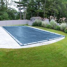 Robelle Super Winter Swimming Pool Cover for In-Ground Swimming Pools, Blue