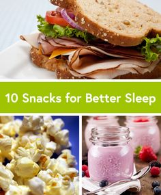 Having trouble sleeping? Try one of these 10 Simple Snacks for Better Sleep. Healthy Late Night Snacks, Healthy Bedtime Snacks, Healthy Protein Snacks, Simple Snacks, Quick Snacks, Healthy Cookies, Healthy Eating, Healthy Recipes, Healthy Meals