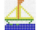 Schiff - Bügelperlen - perler beads