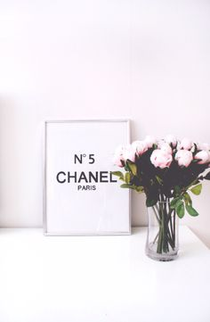 I just ordered my very first Chanel. Is it natural to be this excited about perfume? My New Room, My Room, Fee Du Logis, Flower Power, Decoration Inspiration, Bedroom Inspiration, Decor Ideas, Interior And Exterior, Interior Decorating