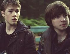 Ben and Jimmy. Falling Skies. Connor and Dylan