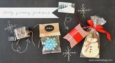 clear holiday packaging ideas from Lorrie Everitt | creativebag.com