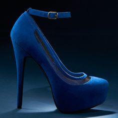 blue heels!