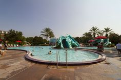 Port Orleans French Quarter, Doubloon Lagoon pool area
