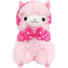 "Llama Girly Alpaca 12"" Prime Plush (Pink) *** See this great product. (This is an affiliate link) #Puppets"