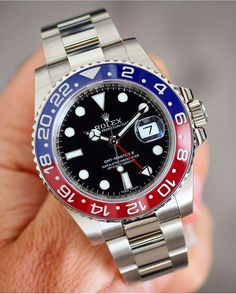 116719 BLRO Rolex GMT Master II  18k WhiteGold Pepsi Dial  How do you like this Heavyweight?!? Rolex Retail Price: 34.800 By: @rolexdiver  by thewatchlovers #rolex #submariner