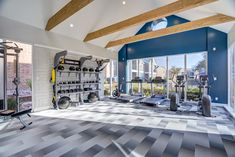 Residents enjoy the convenience of an on-site fitness center with state-of-the-art equipment.