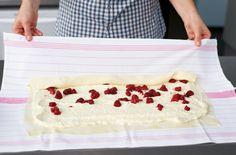 Milchrahmstrudel Bakery, Sweet, Ideas, Raspberries, Treats, Deutsch, Kuchen, Candy