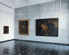Franco Albini, Palazzo Bianco, Genova interiors