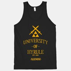 The Legend of Zelda: University of Hyrule Alumni (tank) | HUMAN